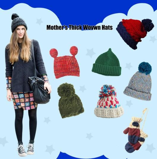 vintage woolen hats